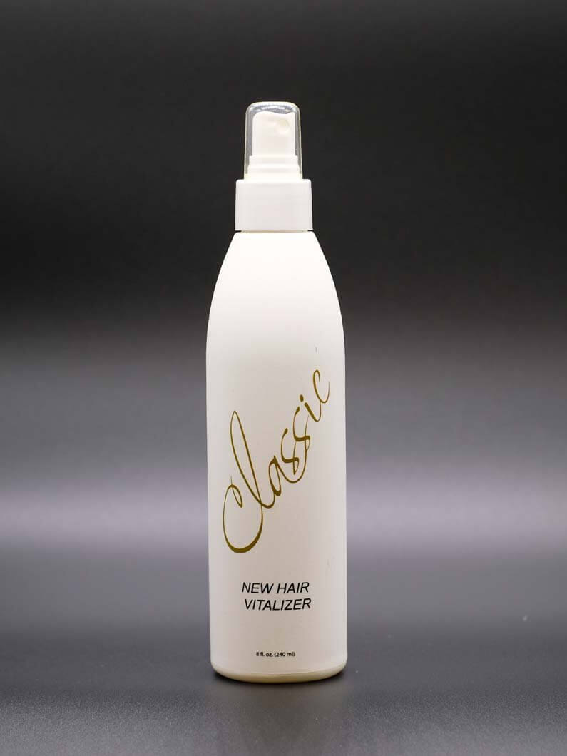 This conditioning spray is formulated to help control frizzy hair and helps to untangle hair. Comes in 8 Oz bottles.